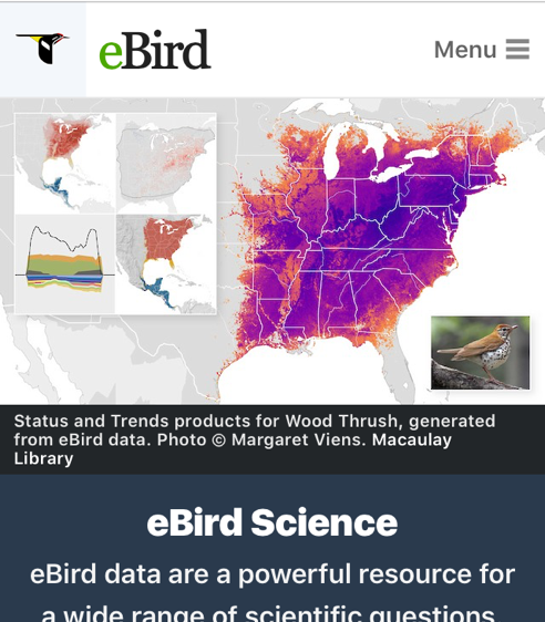eBIRD SCIENCE
